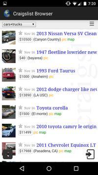 Browser for Craigslist apk screenshot