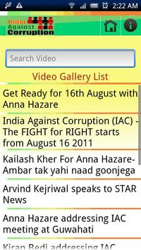 India Against Corruption apk screenshot