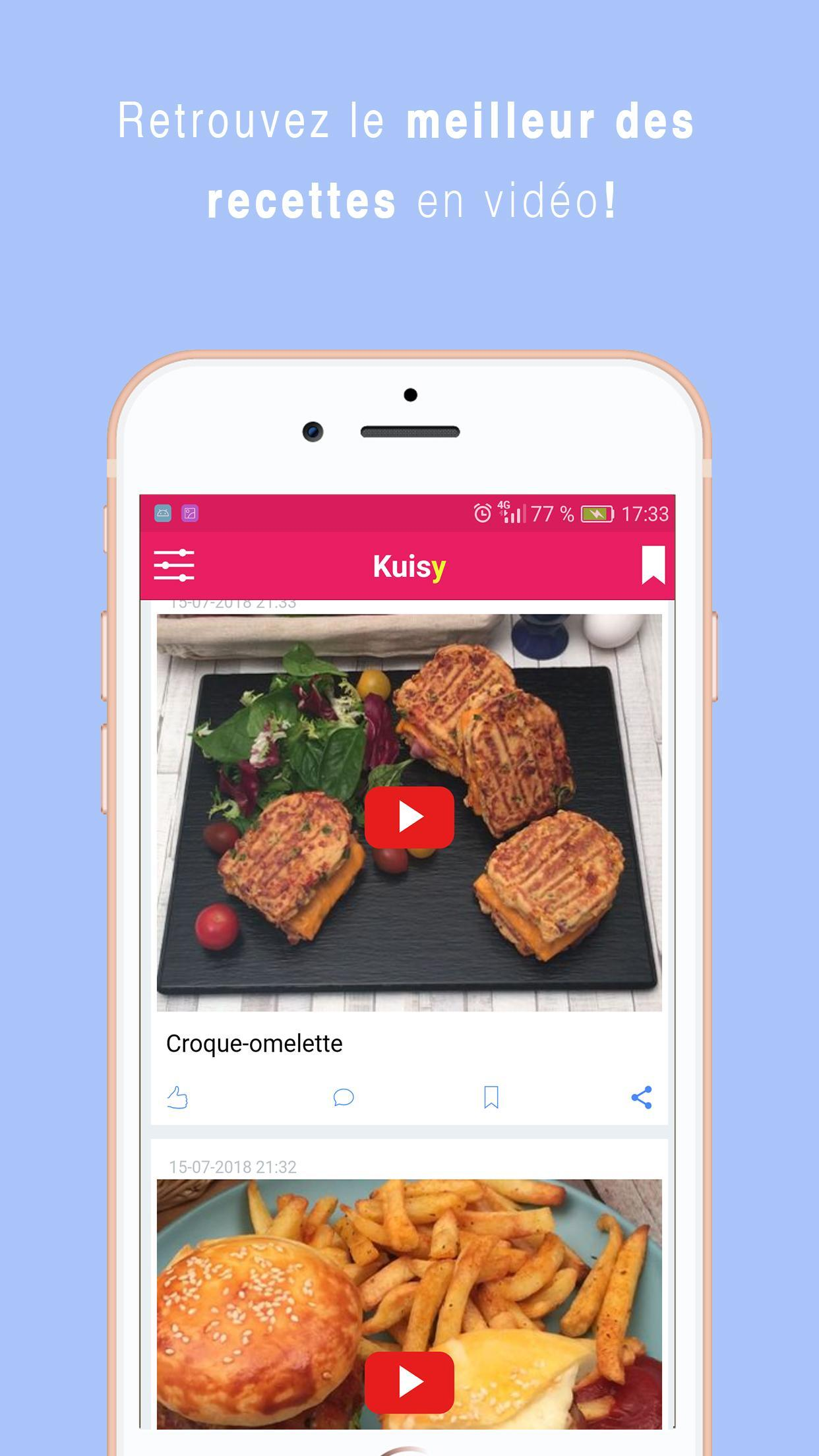 Kuisy Recettes De Cuisine For Android Apk Download