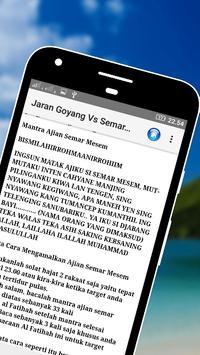 Jaran Goyang v.s Semar Mesem apk screenshot