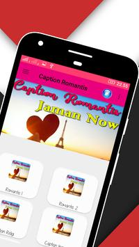 300+ Caption Romantis Jaman Now apk screenshot