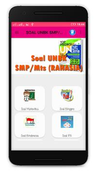 Prediksi Soal UNBK SMP/Mts 2018 screenshot 1
