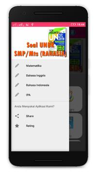 Prediksi Soal UNBK SMP/Mts 2018 apk screenshot