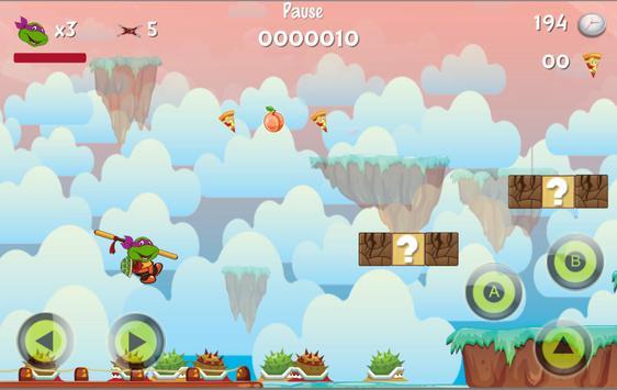 Baby Ninja Turtle Super Adventure screenshot 1
