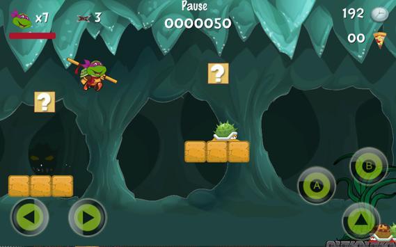 Baby Ninja Turtle Super Adventure screenshot 2