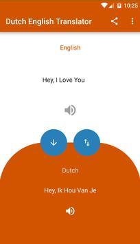Dutch English Translator poster