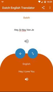 Dutch English Translator apk screenshot