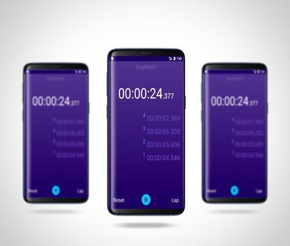 Stopwatch - Lap Timer screenshot 5