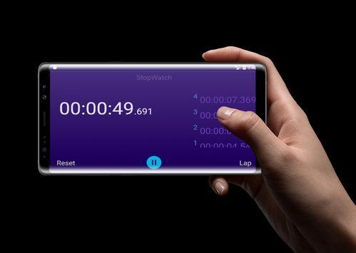 Stopwatch - Lap Timer screenshot 6