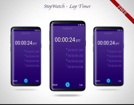 Stopwatch - Lap Timer poster