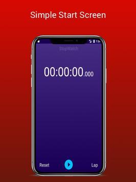 Stopwatch - Lap Timer screenshot 1