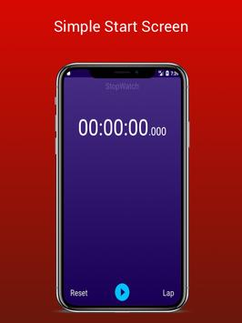 Stopwatch - Lap Timer screenshot 1