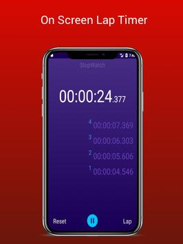 Stopwatch - Lap Timer screenshot 2