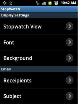 Stopwatch screenshot 4
