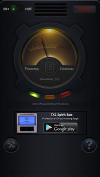 Footstep Detector screenshot 4