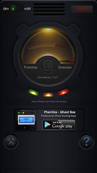 Footstep Detector screenshot 1