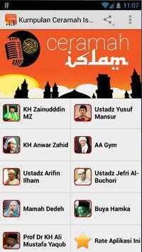 Kumpulan Ceramah Islam poster