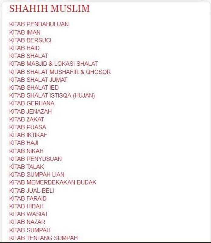 Kumpulan Hadist Sahih For Android Apk Download
