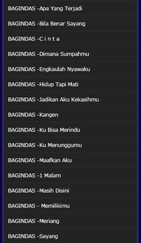 the latest collection of D'Bagindas Songs screenshot 3