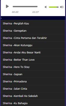 collection of Complete Sherina Songs screenshot 1