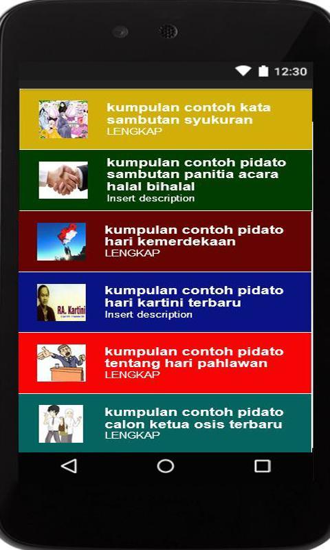 Contoh Teks Pidato Tentang Hari Kartini - Berbagai Teks ...