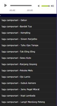 collection of the most popular campursari screenshot 1