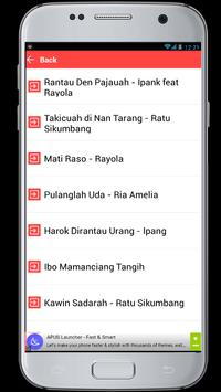 Lagu Minang Terpopuler apk screenshot