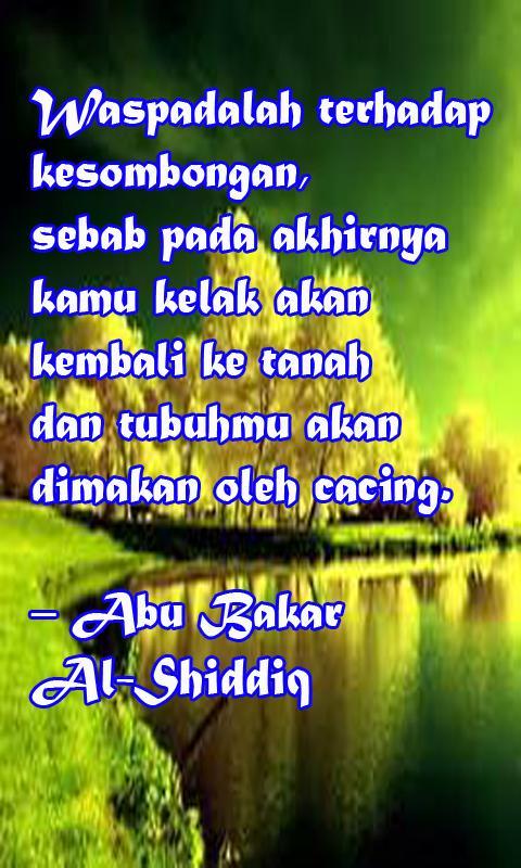 Kumpulan Kata Mutiara Sahabat Abu Bakar As Sidiq For Android Apk Download