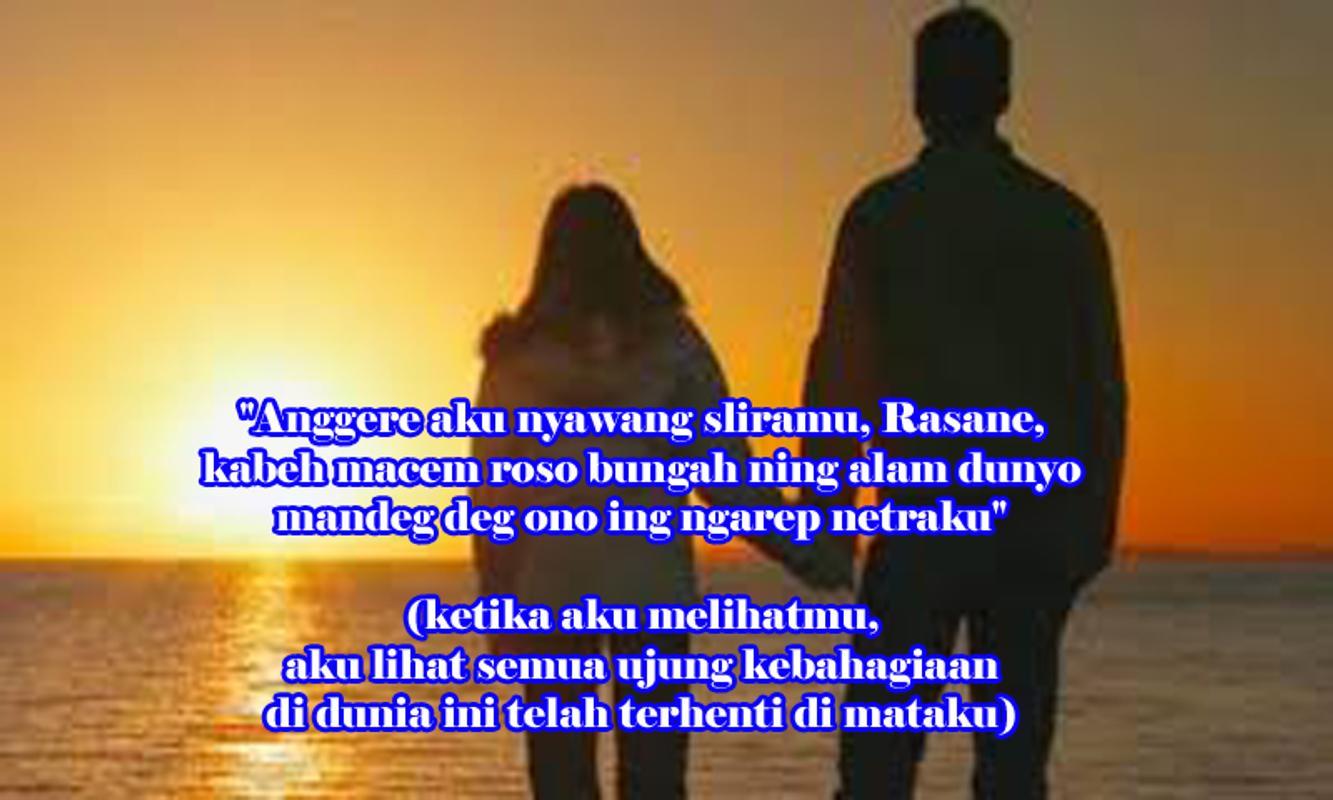 Kata Kata Kangen Bahasa Jawa Dan Artinya