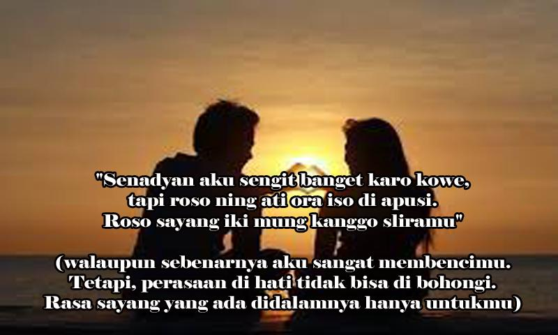 Romantis Kata Kata Bijak Pejuang Cinta Bahasa Jawa