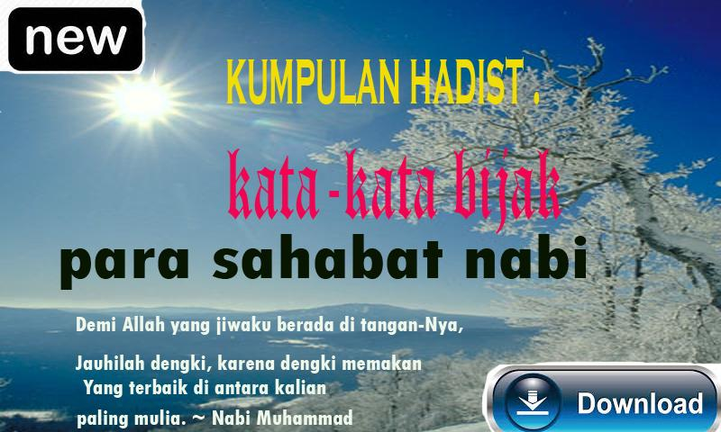 Kumpulan Hadits Dan Kata Mutiara Sahabat Nabi For Android Apk Download