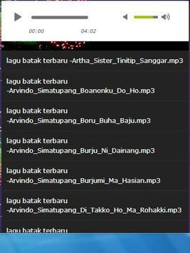 lagu terbaru batak apk screenshot
