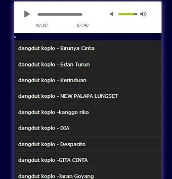 Kumpulan lagu dangdut palapa screenshot 2
