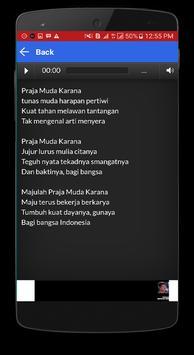 Kumpulan Lagu Pramuka dan Lirik apk screenshot