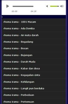 kumpulan lagu rhoma irama apk screenshot