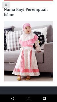 Kumpulan Nama Bayi Islam screenshot 1