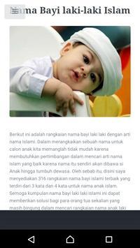 Kumpulan Nama Bayi Islam screenshot 4