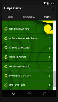 Harpa Cristã New Letras screenshot 2