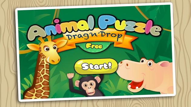 Animal Puzzle Free Drag'n'Drop apk screenshot