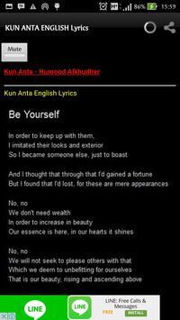 Kun Anta Lyrics and Chords screenshot 4