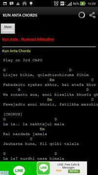 Kun Anta Lyrics and Chords screenshot 5