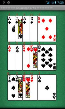 Counting Cards Practice apk screenshot