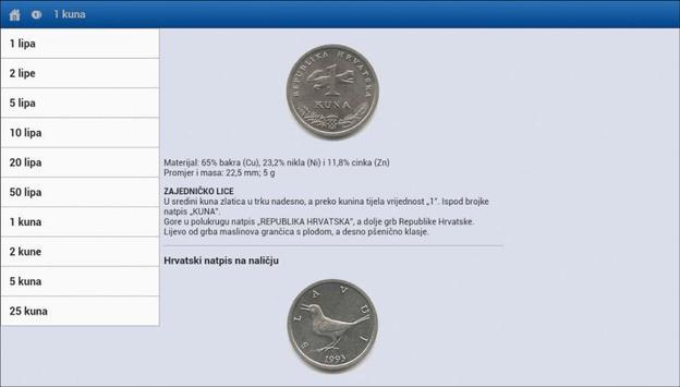 Kunalipa, numizmatika hrvatska screenshot 8