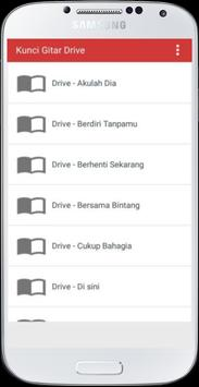 Kunci Gitar Drive Band apk screenshot