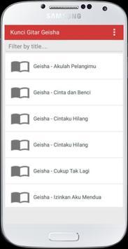Kunci Gitar Gita Gutawa apk screenshot