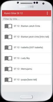 Kunci Gitar ST 12 apk screenshot