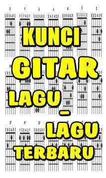 Kunci Gitar Lagu Lagu Terbaru poster