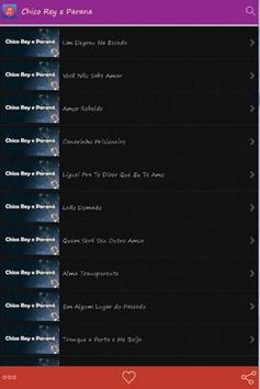 Chico Rey e Paraná Letras Hits apk screenshot