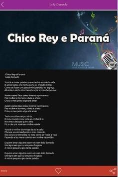 Chico Rey e Paraná Letras Hits screenshot 2