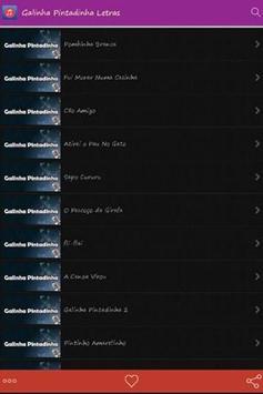 Galinha Pintadinha Letras Hits apk screenshot